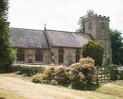 St Giles Church in Coberley Parish