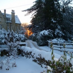 Winter at Salterley Grange